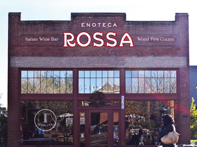 Early Signage Mock - Enoteca Rossa