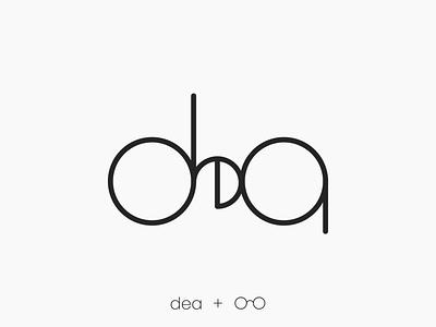 Personal Logo : Dea circular logo circularlogo circular minimal logo minimallogo minimal adobe illustrator adobeillustrator adobe personal logo personallogo typography glasses logo logo design logodesign graphic design design illustration branding logo