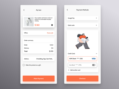Shoe Checkout Screen onboarding screen check out checkout shoes store shoe store shoes shoe ui design app design clean design app clean ui dailyuichallenge daily ui daily 100 challenge ui design 100 days of ui 100 days of design