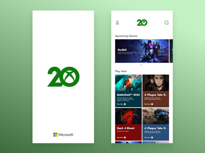XBOX Games Store green clean design clean ui ui design app design mobile app xbox app xbox games microsoft store windows store games xbox ui dailyuichallenge daily ui daily 100 challenge design 100 days of ui 100 days of design