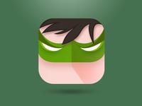 Green Lantern ios9 icon green lantern