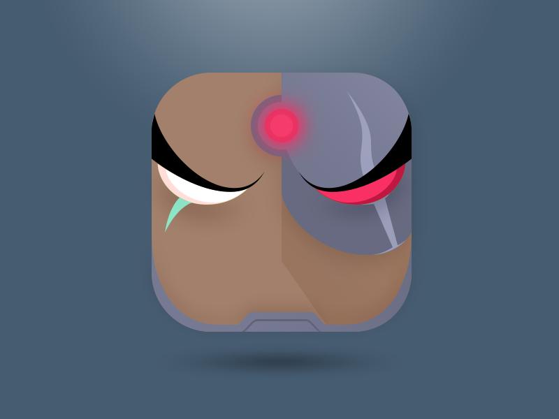 Cyborg, The Justice League justice league ios icon dc cyborg