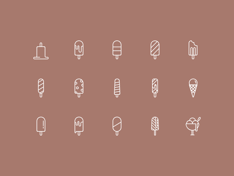Ice Cream Icon Set Part 1 iconfinder icons ice cream