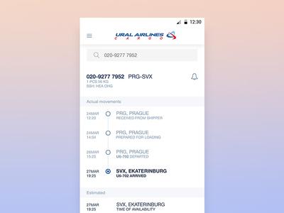 Tracking Air Cargo, UralAirlinesCargo