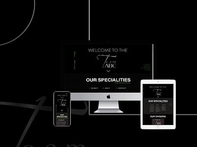 Team ABC Organization typography ux ui web development web design website web design