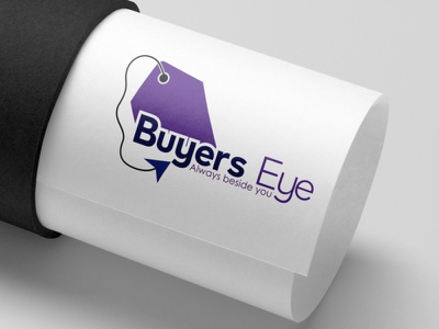 Buyers Eye Logo Design Template elite ui motion graphics animation logo 3d illustration design graphics design graphic design colour logo design branding unique logo design logo design