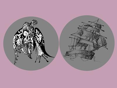 Illustrations for book vector logo illustration graphic design design branding art