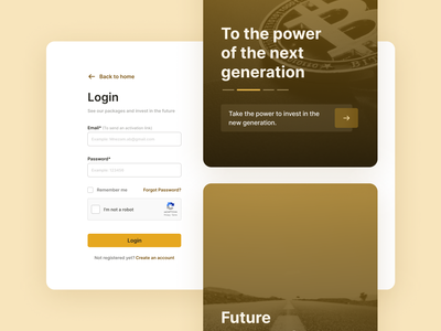 BLM Bank website redesign ui application minimal ux app uidesign design