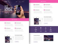 Freebie PSD+Sketch: Entity (Responsive Html Email Newsletter)