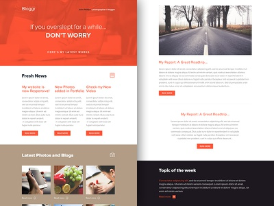 Freebie PSD+Sketch: Bloggr (Responsive Html Email Newsletter) themeforest template sketch rocketway psd newsletter mailchimp html freebie email download campaignmonitor