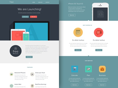 Freebie PSD+Sketch: Titan (Responsive Html Email Newsletter) campaignmonitor themeforest template sketch rocketway psd newsletter mailchimp html freebie email download