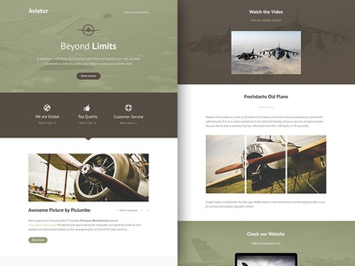 Freebie PSD+Sketch: Aviator (Responsive Html Email Newsletter) themeforest template sketch rocketway psd newsletter mailchimp html freebie email download campaignmonitor