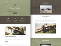 Freebie PSD+Sketch: Aviator (Responsive Html Email Newsletter)