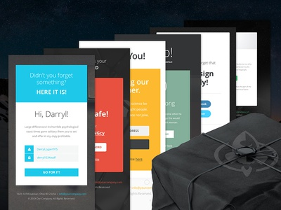 Freebie PSD+Sketch: Notify 1 (Responsive Html Email Newsletter) themeforest template sketch rocketway psd newsletter mailchimp html freebie email download campaignmonitor