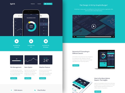 Freebie PSD+Sketch: Spirit (Responsive Html Email Newsletter) themeforest template sketch rocketway psd newsletter mailchimp html freebie email download campaignmonitor