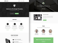 Freebie PSD+Sketch: Knight (Responsive Html Email Newsletter)