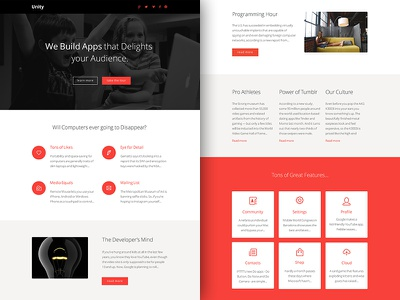 Freebie PSD+Sketch: Unity (Responsive Html Email Newsletter) themeforest template sketch rocketway psd newsletter mailchimp html freebie email download campaignmonitor