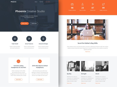Freebie PSD+Sketch: Phoenix (Responsive Html Email Newsletter) themeforest template sketch rocketway psd newsletter mailchimp html freebie email download campaignmonitor