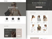 Freebie PSD+Sketch: Boutique (Responsive Html Email Newsletter)
