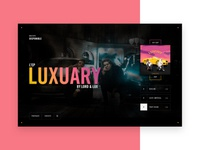 Lord & Lux - Landing page