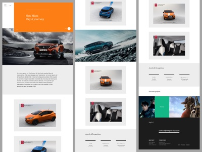 Makemepulse exploration case study casestudy layout minimal userinterface website ux user interface interface ui webdesign design