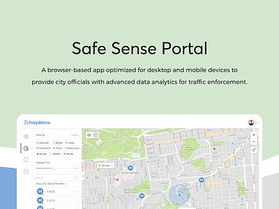 Safe Sense Portal website branding ux designer ux design ui designer ui design app illustration design web ux ui