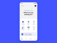 Novabooker Booking Interaction salon appointment schedule beauty booking ux ui design app ios prototype flow interaction animation