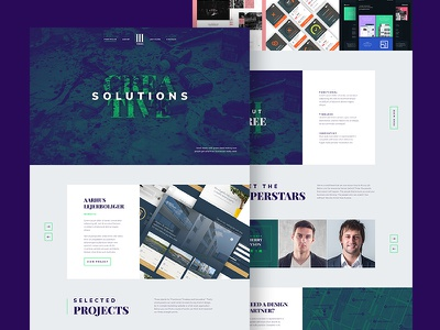 Agency Landing Page [PSD] web design creative dark beautiful clean flat photoshop free resource psd landing page agency