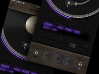 Music Player Concept #skeuomovement