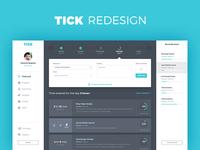 @Tickspot Unofficial Redesign