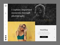 Photography Homepage Concept