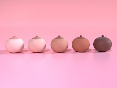 October Pink 2020 render redshift maya web ui design 3d art branding illustration flat minimal icon ux ui design graphist 3d artist octoberpink 3d