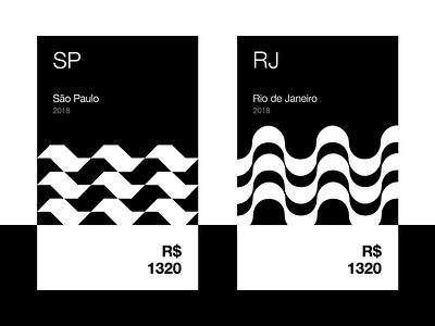 Brazilian Cards digital ux ui interface janeiro de rio design graphic vector cards brazil