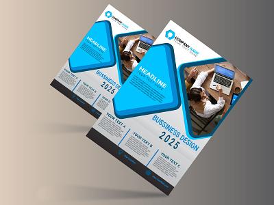 Creative Business Flyer Template business flyer graphic design branding design vector