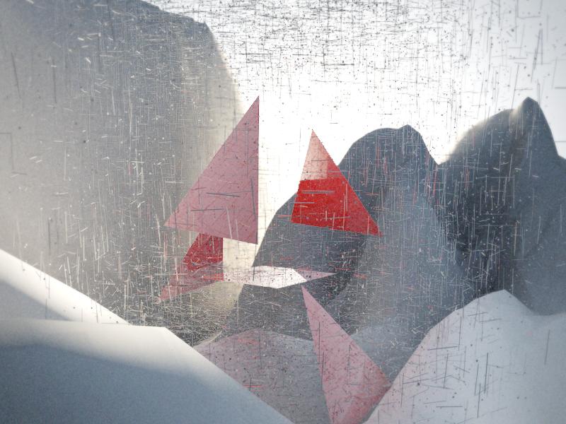 4# Abstract 3d visualart art mountains shapes mograph c4d 3d exploring