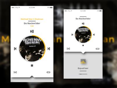 Daily UI #9 logoflow daily ui music player