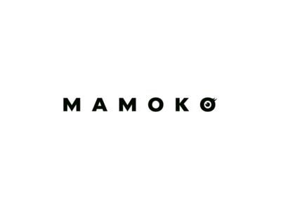 MAMOKO beauty beauty logo logo logoflow pupil eyelash pmu make-up eye