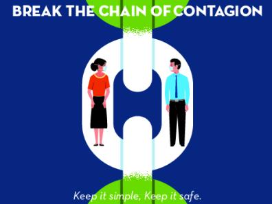 BREAK THE CHAIN OF CONTAGION