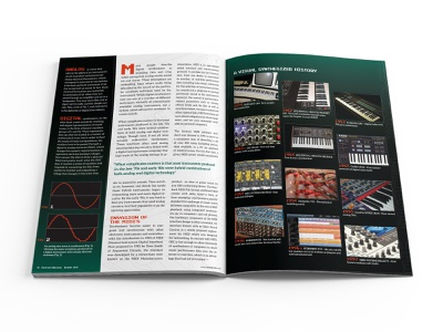 Electronic Musician Magazine Article Spread 02 magazine design design print design editorial design