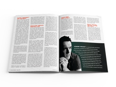 Electronic Musician Magazine Article Spread 03 magazine design design print design editorial design