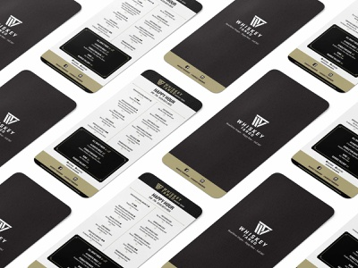 Whiskey Tango Happy Hour Menu print idenity graphic  design catalog design vector branding logo editorial design typography print design design