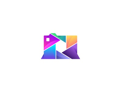 Colorful Camera Logo