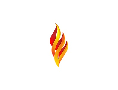 Flame Torch Logo