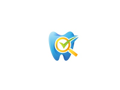 Dental care logo toothpaste. protection hospital company beauty oral blue protection hygiene doctor clean healthy logo clinic medical design health care dentist tooth dental