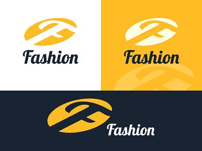 F  Latter FASHION Logo circle fashion f logo latter f f latter logo