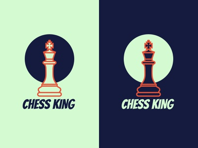 Chess king logo. king logo chess king chess king logo