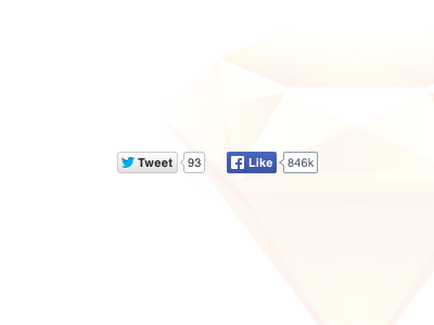Free social buttons for Sketch sketch social buttons facebook twitter count resource download free