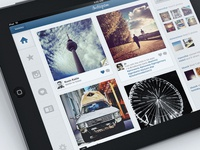 Instagram iPad Concept