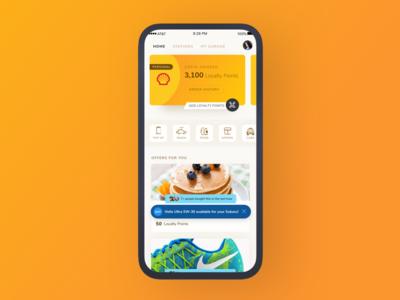 My Shell Loyalty App light rewards loyalty shell
