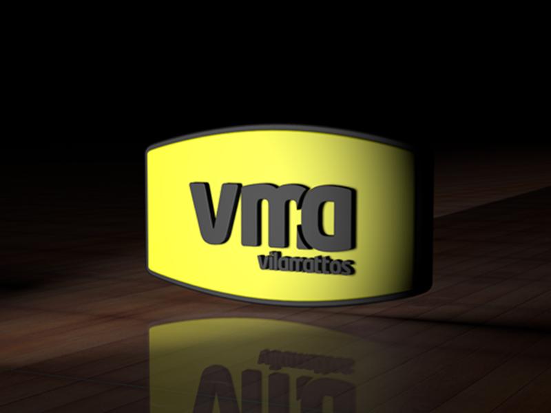 VMA - CINEMA 4D vector typography design branding logo design gráfico logotipo
